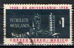 MESSICO - 1958 - NAZIONALIZZAZIONE DELL'INDUSTRIA DEL PETROLIO - USATO - Messico