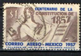 MESSICO - 1957 - CENTENARIO DELLA COSTITUZIONE DEL 1857 - USATO - Messico