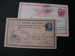 GR 2 Old Cards 1904  Bis 1906 - Ganzsachen