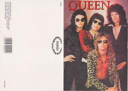 Queen Rock Band Original Postcard In Near Mint Condition, Made In England 003 - Cartes Postales