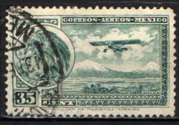 MESSICO - 1929 - STEMMA ED AEROPLANO - USATO - Messico