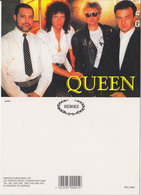 Queen Rock Band Original Postcard In Near Mint Condition, Made In England 004 - Cartes Postales
