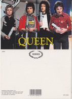 Queen Rock Band Original Postcard In Near Mint Condition, Made In England 005 - Cartes Postales