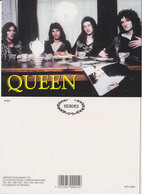 Queen Rock Band Original Postcard In Near Mint Condition, Made In England 006 - Cartes Postales