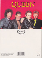 Queen Rock Band Original Postcard In Near Mint Condition, Made In England 007 - Postcards