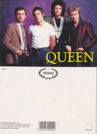 Queen Rock Band Original Postcard In Near Mint Condition, Made In England 008 - Postcards