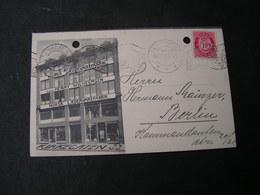 DK Karte 1914 Fabrik Reklame , Not Perfekt - Briefe U. Dokumente