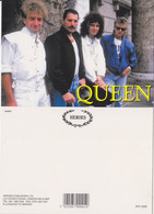 Queen Rock Band Original Postcard In Near Mint Condition, Made In England 009 - Cartes Postales