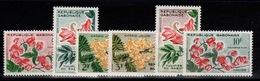 Gabon - YV 153 à 158 N** Fleurs - Gabon (1960-...)