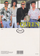 Queen Rock Band Original Postcard In Near Mint Condition, Made In England 010 - Postcards