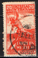 MESSICO - 1938 - ARCIERE INDIANO - USATO - Messico