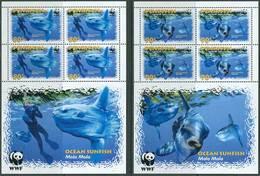 Penrhyn Islands 2003. Michel #605/08 MNH/Luxe. 4 Klb. WWF. Ocean Sunfish. (Ts02/55) - W.W.F.