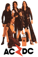 AC/DC Rock Band Original Postcard In Near Mint Condition, Made In Spain 001 - Cartes Postales