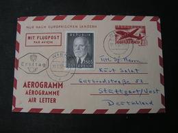 Aerogramme 1957 - 1945-.... 2. Republik