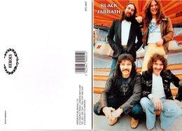 Black Sabbath Rock Band Original Postcard In Near Mint Condition. 001 - Postcards