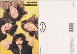 Black Sabbath Rock Band Original Postcard In Near Mint Condition. 003 - Postcards