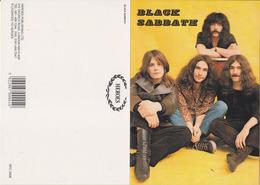 Black Sabbath Rock Band Original Postcard In Near Mint Condition. 004 - Postcards