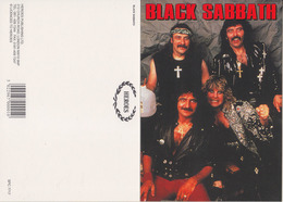 Black Sabbath Rock Band Original Postcard In Near Mint Condition. 005 - Cartes Postales