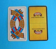 OZUJSKO BEER Single Card ( Croatian Famous Beer Brand ) Italian Swap Playing Cards Triestine * Bière Bier Cerveza Birra - Cartes à Jouer Classiques