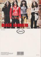 Black Sabbath Rock Band Original Postcard In Near Mint Condition. 007 - Postcards