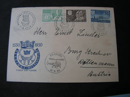 Finland  Cv. Helikopter Cancel 1950 - FDC