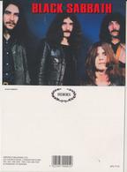 Black Sabbath Rock Band Original Postcard In Near Mint Condition. 008 - Postcards