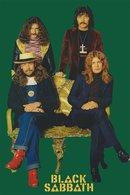 Black Sabbath Rock Band Original Postcard In Near Mint Condition. 009 - Postcards