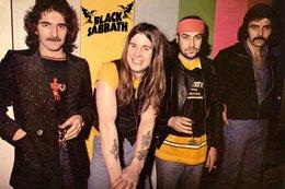 Black Sabbath Rock Band Original Postcard In Near Mint Condition. 010 - Cartes Postales