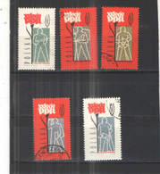 Polonia  PO 1962 Partito Lav. Scott.1041/1045+See Scan On Schaubek Page; - 1944-.... Repubblica
