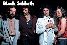 Black Sabbath Rock Band Original Postcard In Near Mint Condition. 011 - Postcards