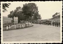 Luxembourg: Invasion Allemande 10.5.1940 Entre Ettelbruck Et Martelange, Photo 92x62mm, 2Scans - Guerre, Militaire