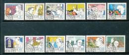 VATIKAN Mi.Nr. 852-863  Freimarken: Die Weltreisen Von Papst Johannes Paul II - Siehe Scan - Used - Used Stamps