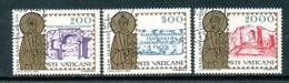 VATIKAN Mi.Nr. 864-866 1600. Todestag Von Papst Damasus I. - Siehe Scan - Used - Vatican
