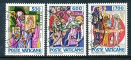VATIKAN Mi.Nr. 867-869 1100. Todestag Des Hl. Methodios - Siehe Scan - Used - Used Stamps