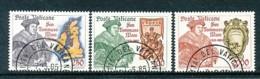 VATIKAN Mi.Nr. 870-872 450. Todestag Von Thomas More - Siehe Scan - Used - Used Stamps
