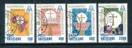 VATIKAN Mi.Nr. 876-879 Internationaler Eucharistischer Kongress, Nairobi - Siehe Scan - Used - Used Stamps