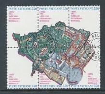 VATIKAN Mi.Nr. 883-888 UNESCO-Welterbe: Vatikanstadt - Siehe Scan - Used - Used Stamps