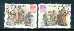 VATIKAN Mi.Nr. 897-898 50 Jahre Päpstliche Akademie Der Wissenschaften  - Siehe Scan - Used - Used Stamps