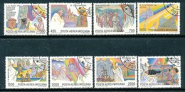 VATIKAN Mi.Nr. 899-906 Die Weltreisen Von Papst Johannes Paul II  - Siehe Scan - Used - Used Stamps