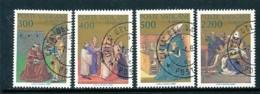 VATIKAN Mi.Nr. 907-910 1600. Jahrestag Der Bekehrung Und Taufe Des Hl. Augustinus  - Siehe Scan - Used - Used Stamps