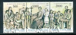 VATIKAN Mi.Nr. 937-939 100. Todestag Des Hl. Giovanni Bosco - Siehe Scan - Used - Vatican