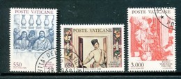 VATIKAN Mi.Nr. 949-951 400. Todestag Von Paolo Veronese - Siehe Scan - Used - Vatican