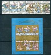 VATIKAN Mi.Nr. 957-962, Block 10 Weihnachten - Siehe Scan - Used - Vatican