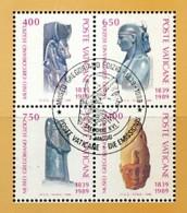 VATIKAN Mi.Nr. 969-972 150 Jahre Ägyptisches Museum Im Vatikan - Siehe Scan - Used - Vatican