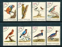 VATIKAN Mi.Nr. 976-983 Vogeldarstellungen Von Eleazar Albin - Siehe Scan - Used - Used Stamps