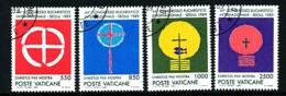 VATIKAN Mi.Nr. 984-987 Internationaler Eucharistischer Kongress, Seoul - Siehe Scan - Used - Vatican