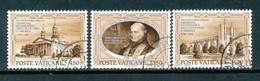 VATIKAN Mi.Nr. 993-995 200. Jahrestag Der Errichtung Der Ersten Katholischen Diözese, USA - Siehe Scan - Used - Vatican
