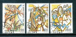 VATIKAN Mi. Nr. 996-998 450. Todestag Der Hl. Angela Merici - Siehe Scan -used - Vatican