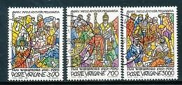 VATIKAN Mi. Nr. 999-1001 1300. Jahrestag Des Beginns Der Missionstätigkeit Des Hl. Willibrord - Siehe Scan -used - Vatican