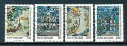VATIKAN Mi. Nr. 1010-1013 300 Jahre Diözese Peking-Nanking - Siehe Scan -used - Vatican